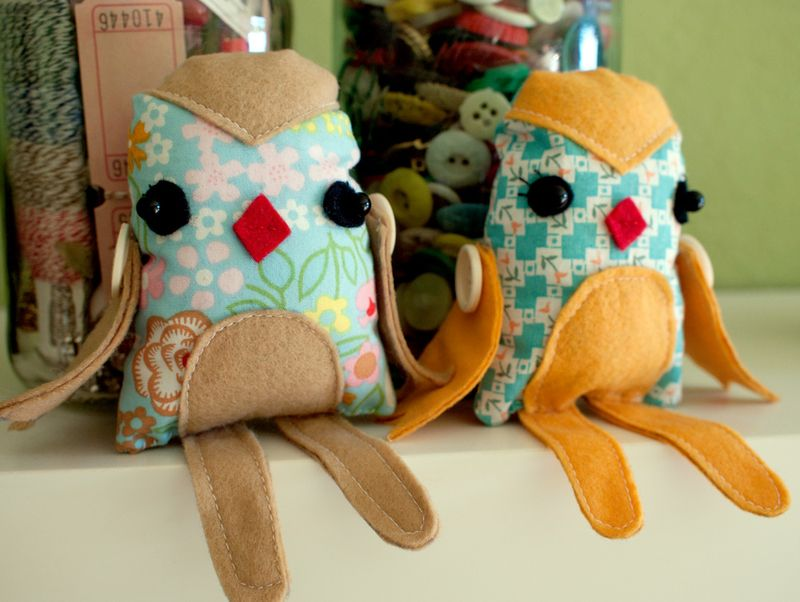 Make Your Own Birdie Plush