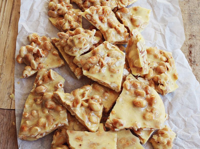 Peanut brittle christmas recipe idea