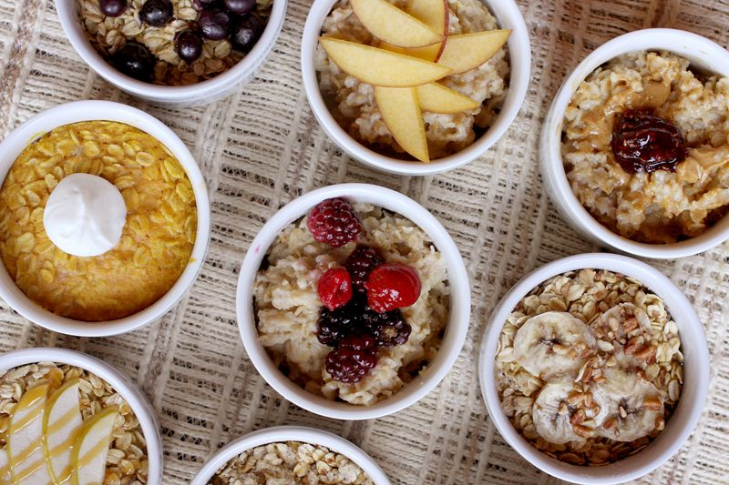 Homemade oatmeal 9 ways