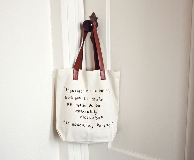 Favorite Quote Tote