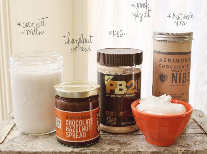 PB + Hazelnut Smoothie Recipe