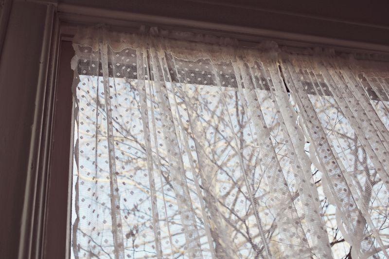 Dot Lace Curtains