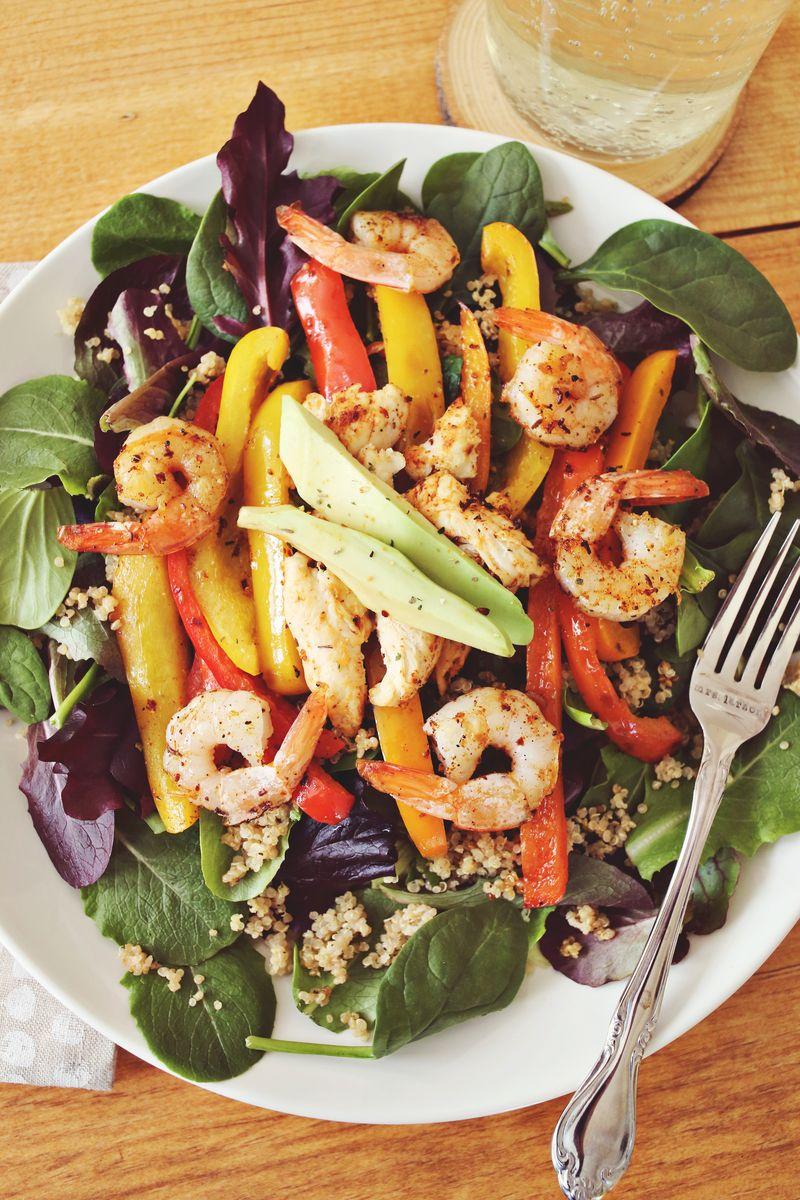 Quinoa Fajita Salad Recipe