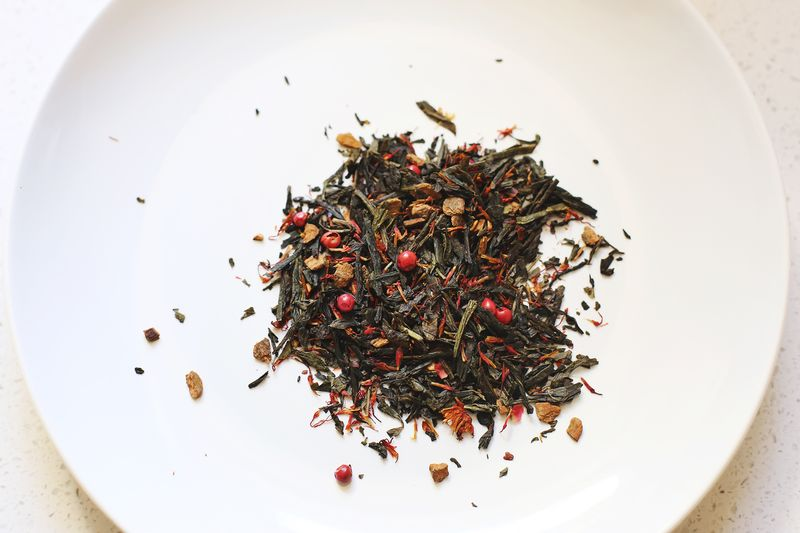 Hot lips tea by David's Tea