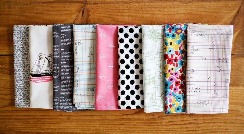 Nesting: Mismatched Cloth Napkins - A Beautiful Mess