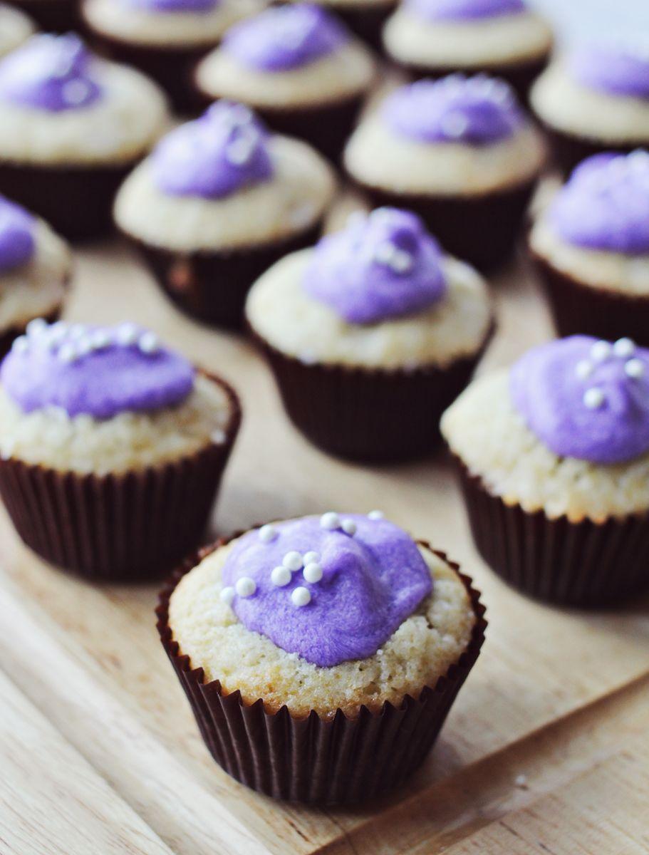 Lavender And Vanilla Cupcakes A Beautiful Mess