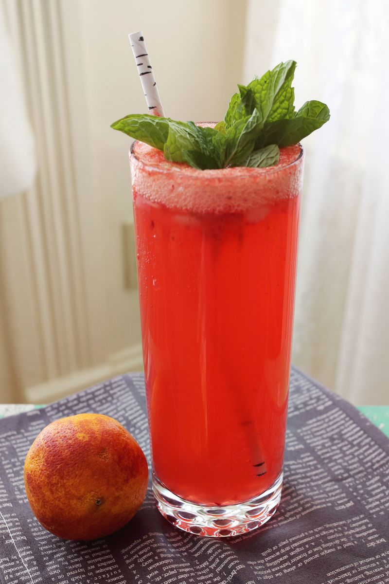 Blood Orange Lemon Fizz A Beautiful Mess
