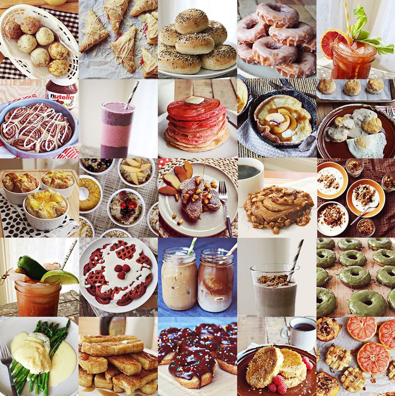 25 Breakfast Recipes from abeautifulmess.com