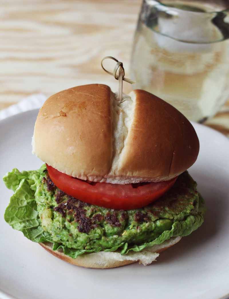 Edamame burger recipe