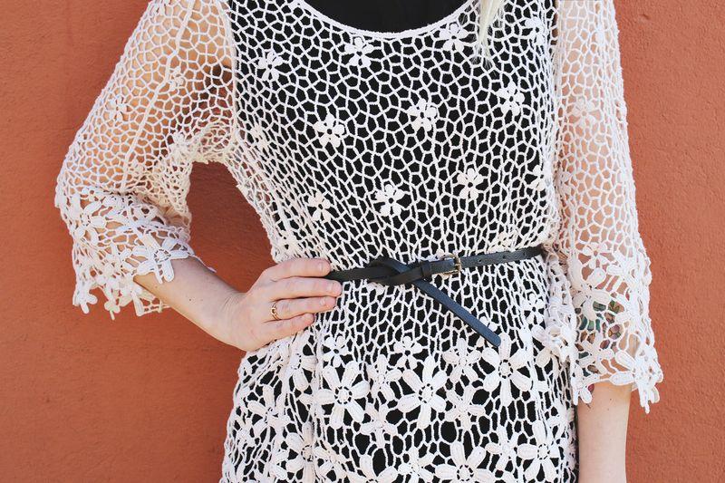 Cute lace top!