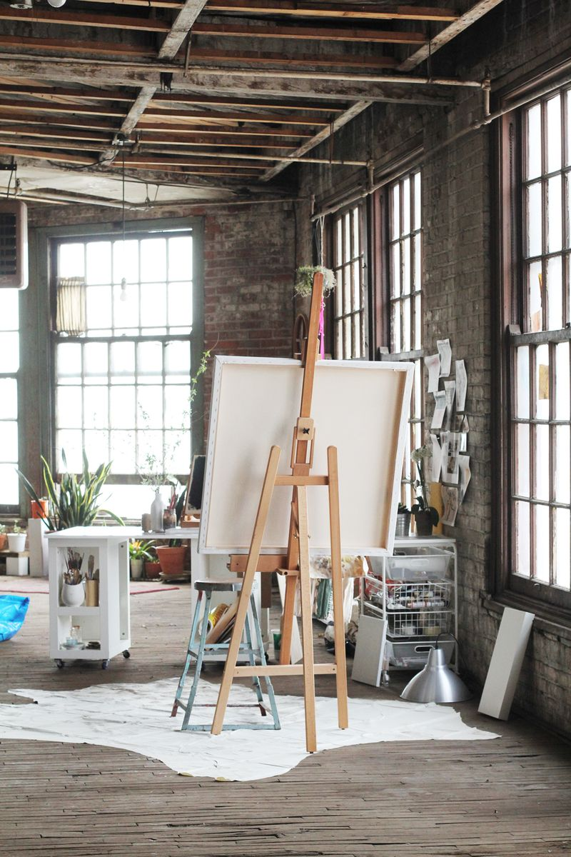Katie Stratton's gorgeous work space