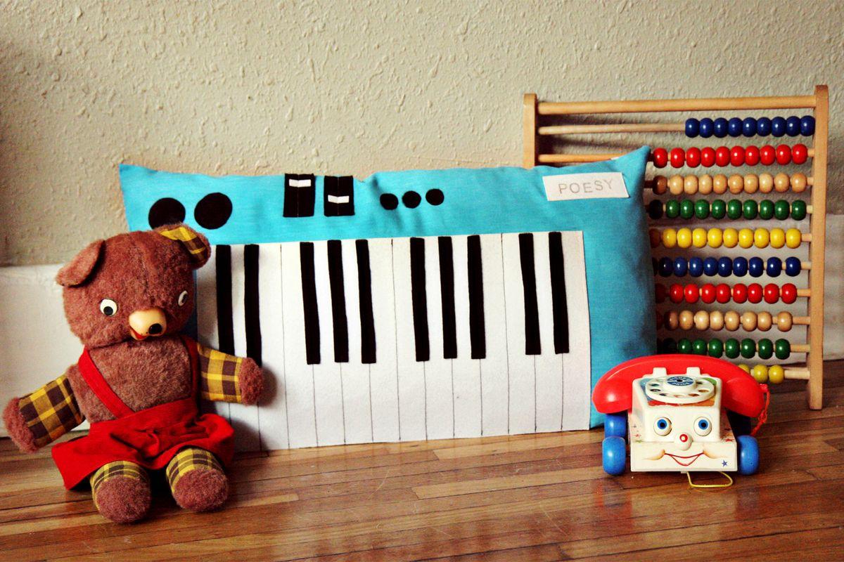 Keyboard Piano Plush Toy A Beautiful Mess