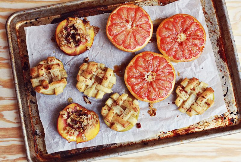 Baked fruit