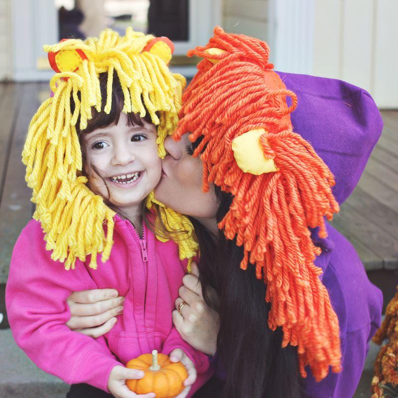 Lion Hoodie DIY Halloween Costume