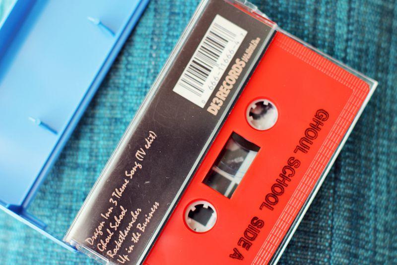 Ghoul School Casette Tape