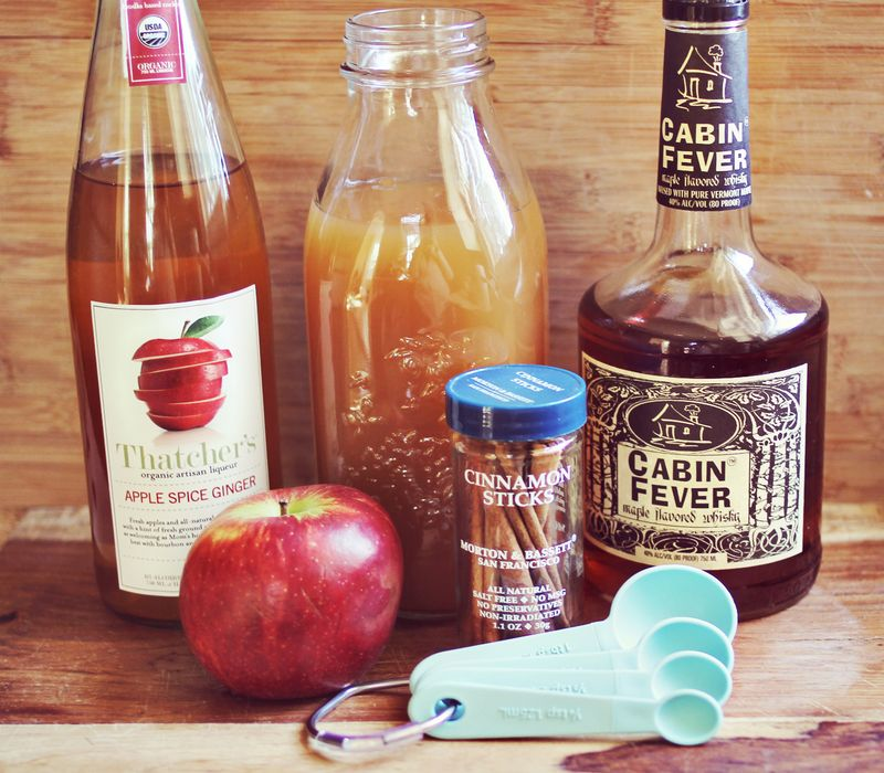 (Spiked) Maple Apple Cider Recipe