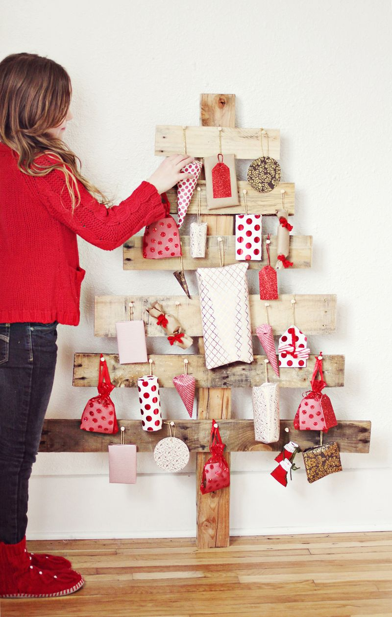 Diy Advent Calendar For Adults : Diy advent tree a beautiful mess