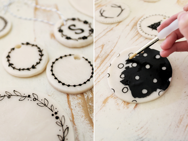 Make your own clay ornaments a beautiful mess How to make your own ornaments ideas