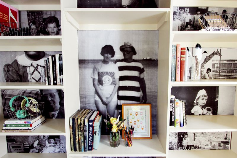 Book shelf diy