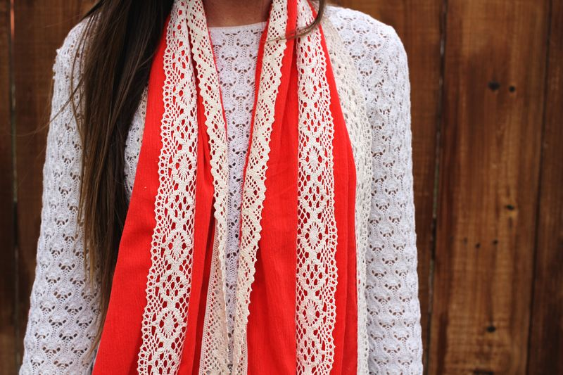 Gift Idea: A Simple DIY Scarf - A Beautiful Mess