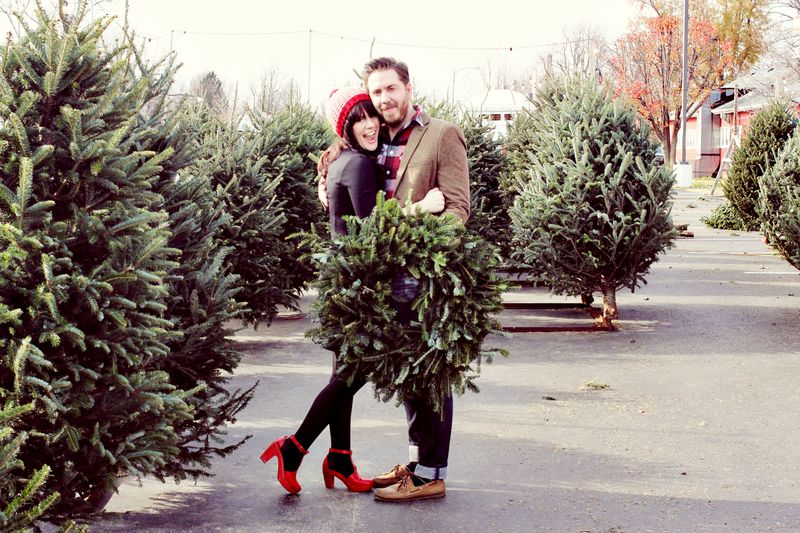Jeremy + Elsie Christmas 2012