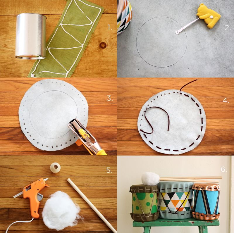 Gift Idea DIY Drums