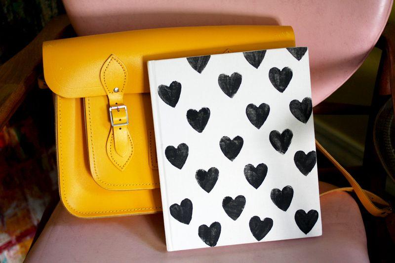 Heart Stamp Journal