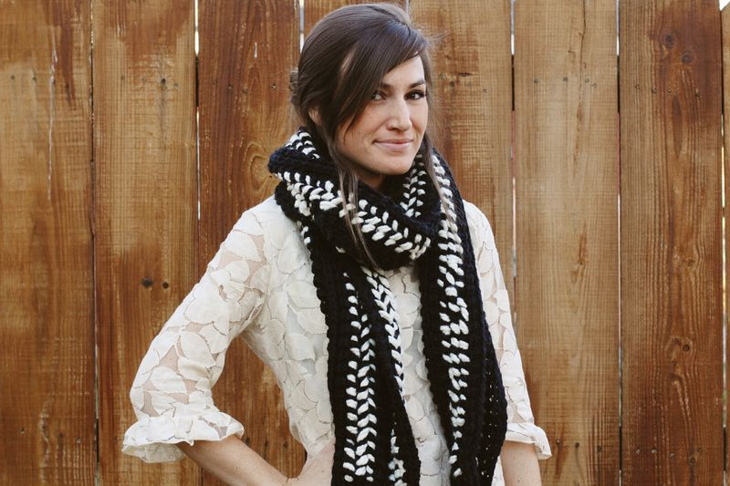 Restyled Scarf Diy A Beautiful Mess
