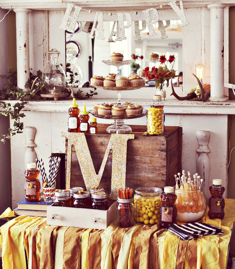 Honey Themed Baby Shower