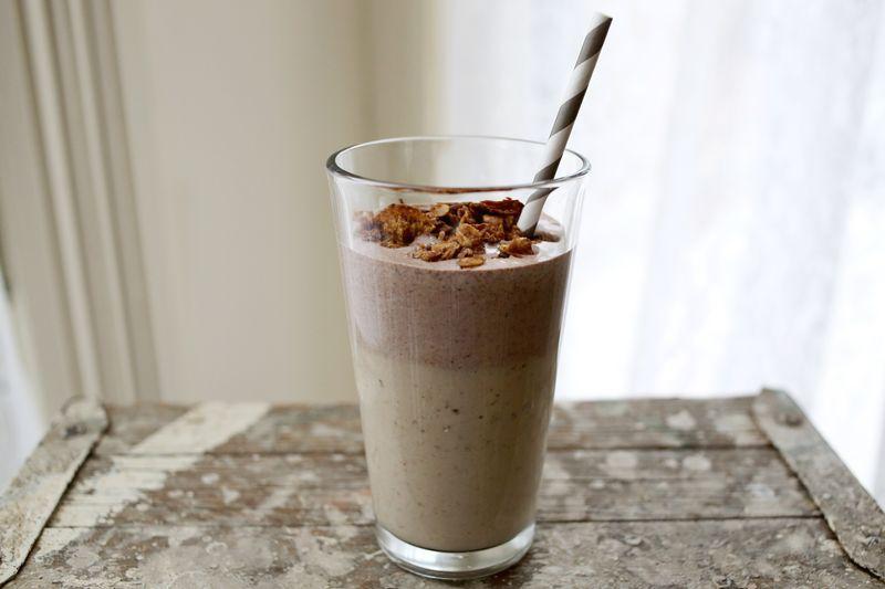 Peanut Butter + Hazelnut Smoothie Recipe