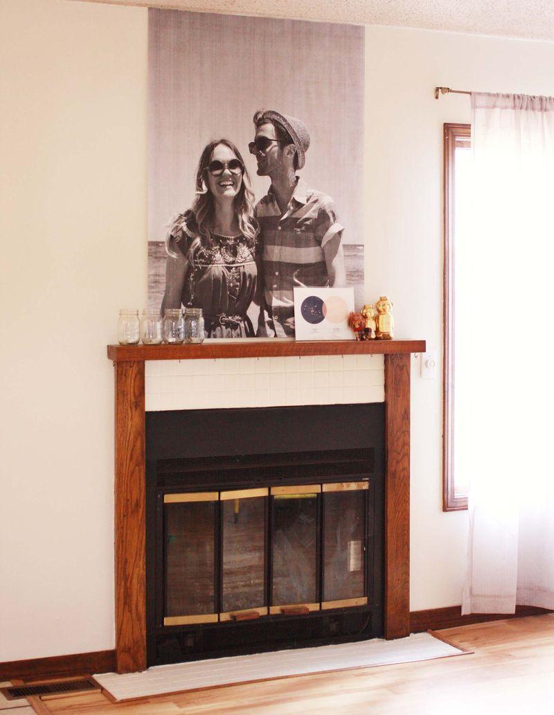 Emma's fireplace