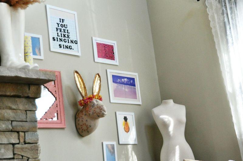 Adorable living room details