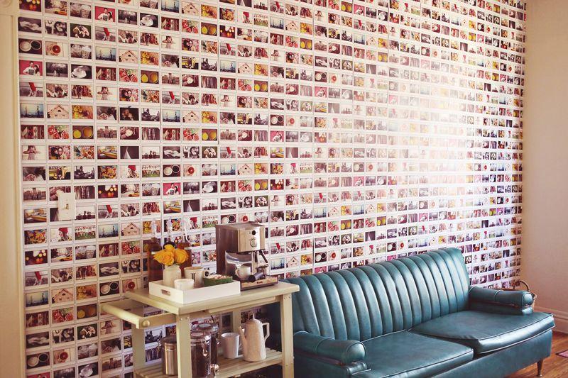 DIY Instax Wall Via A Beautiful Mess