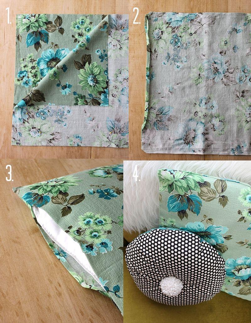 Square Pillow DIY