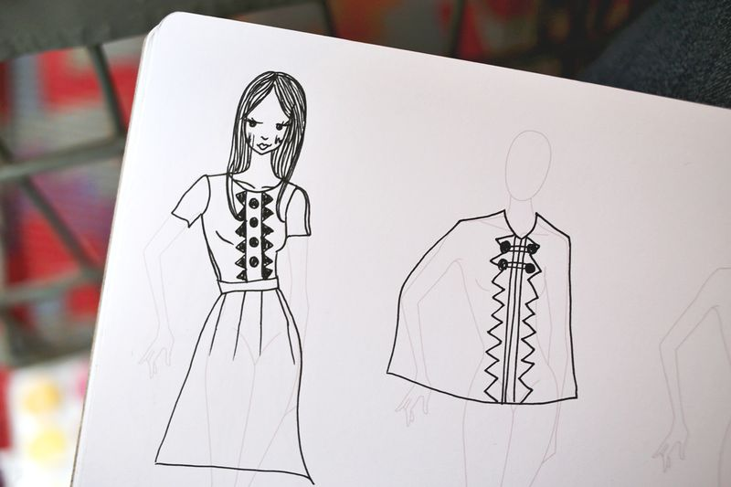 The Fashion Sketchpad