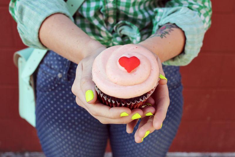 The ruby cupcake