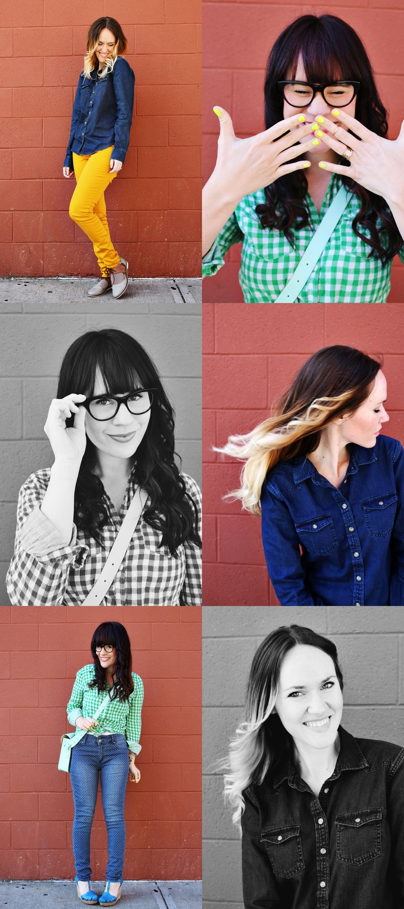 Sister Style- We Love Color!