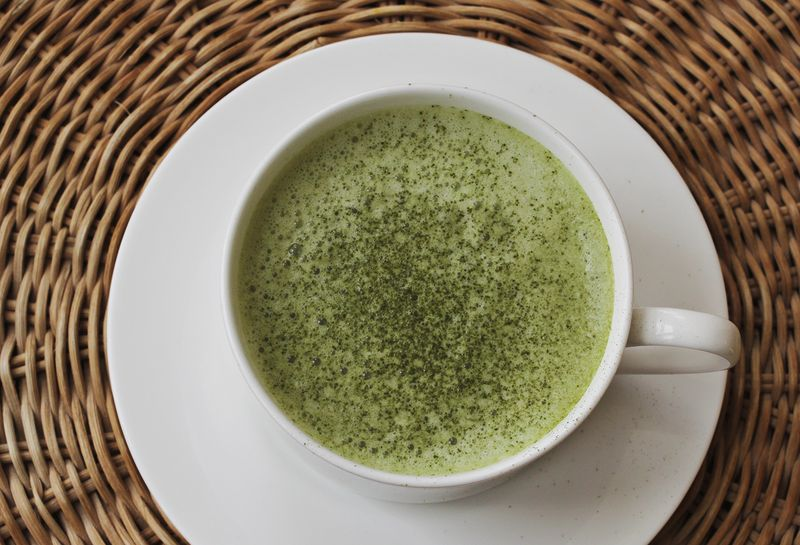 Best green tea latte recipe
