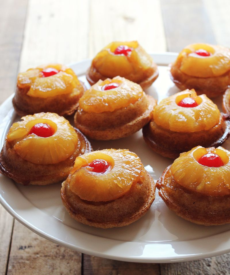 Pineapple upside cake recipe