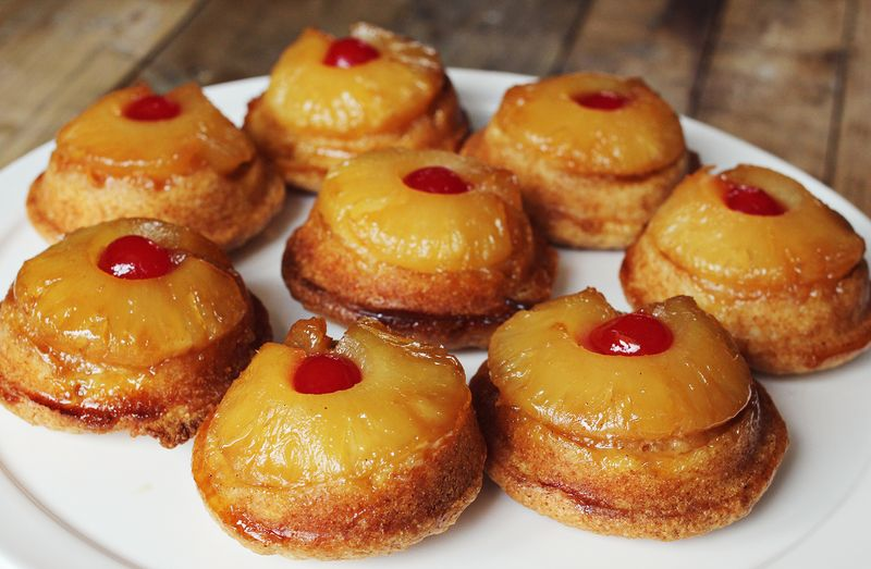 how to make the best pineapple upside down cupcakes
