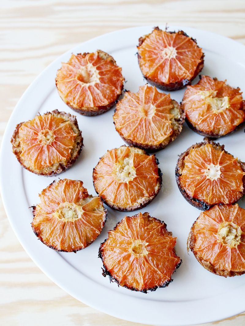 Brown sugar and grapefruit muffins