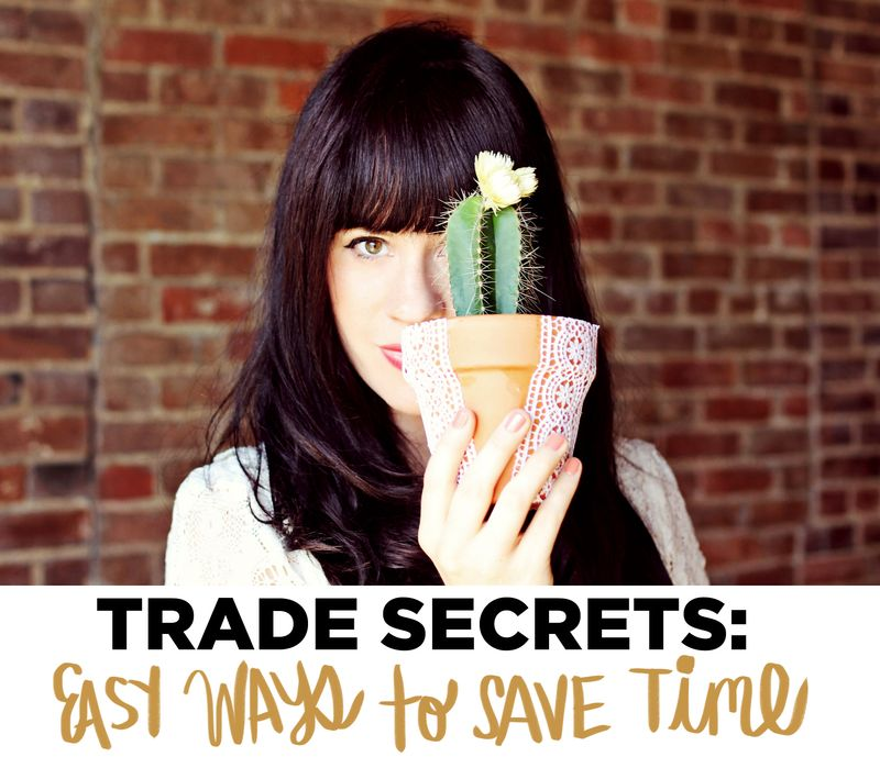 Easy Ways To Save Time (via A Beautiful Mess)