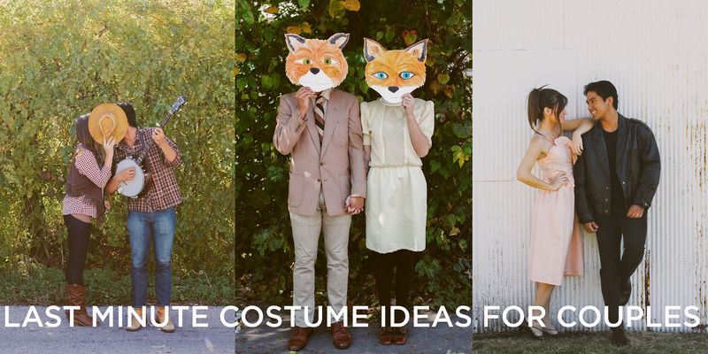 Last minute costumes for couples