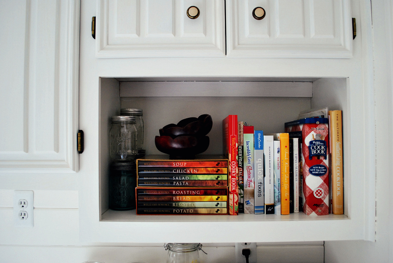 Cookbook nook