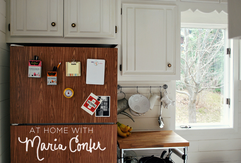 At Home With Maria Confer via A Beautiful Mess