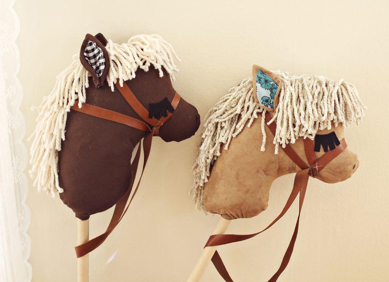 DIY Stick Horses