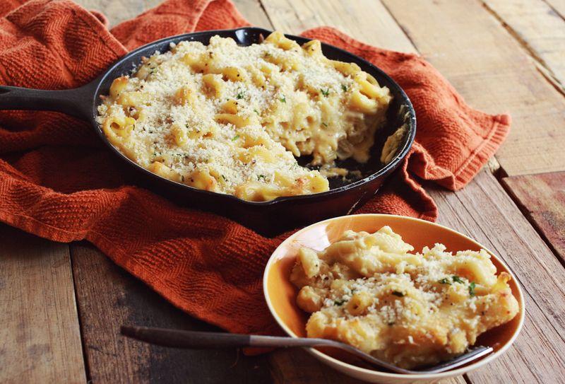Deli style baked macaroni