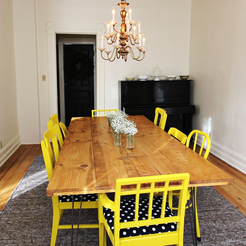 Elsie's DIY Dining Room Table
