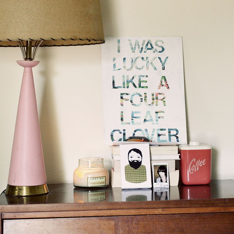 Song Lyric Wall Art DIY