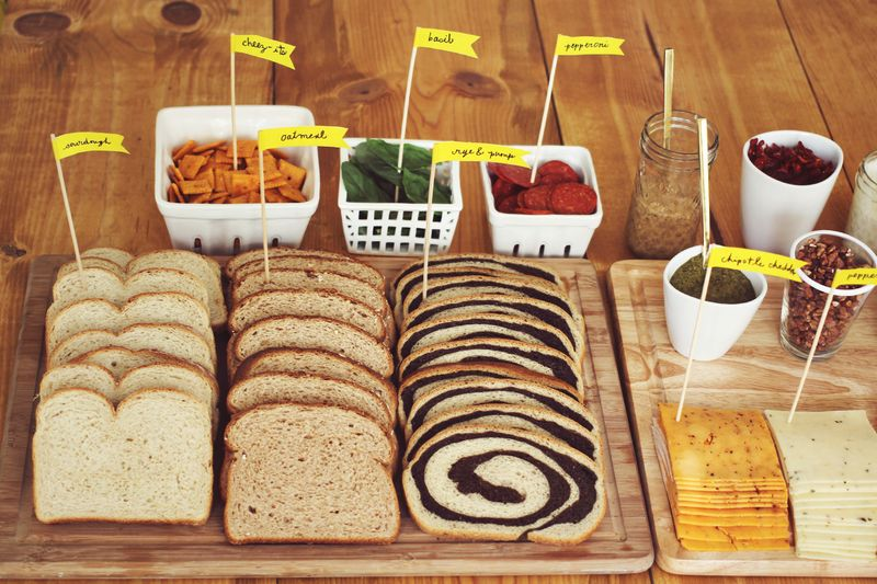 Fancy Grilled Cheese Party Idea